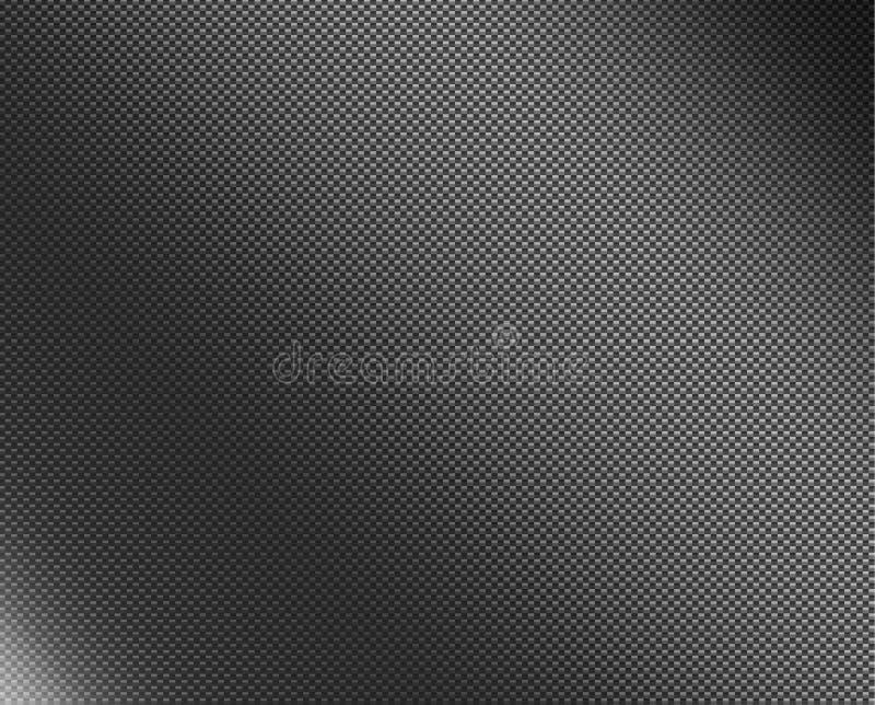 Fibre scientifique de carbone de pente photographie stock