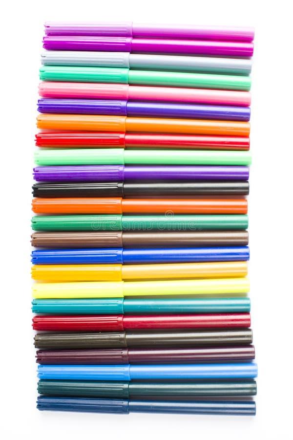 Download Fibre-tip art pens stock image. Image of craft, draw - 17829507