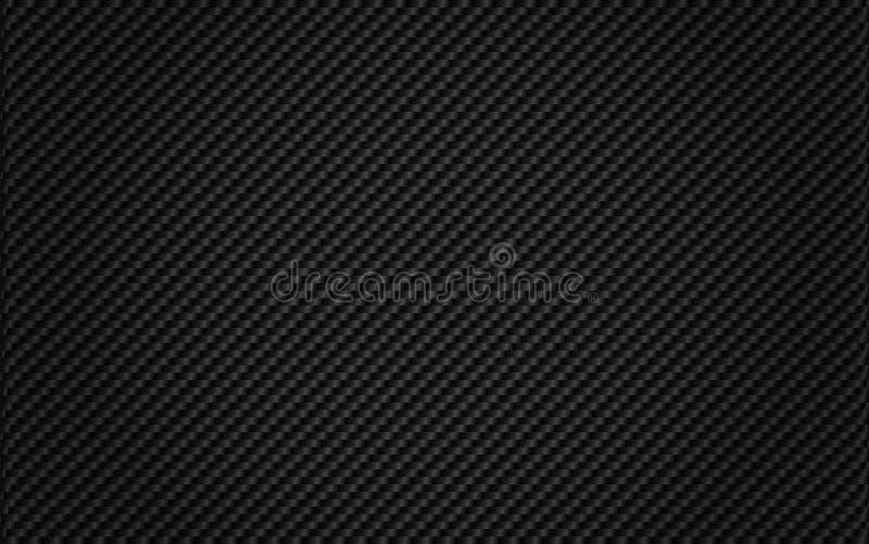 Fibre tissée de carbone illustration de vecteur