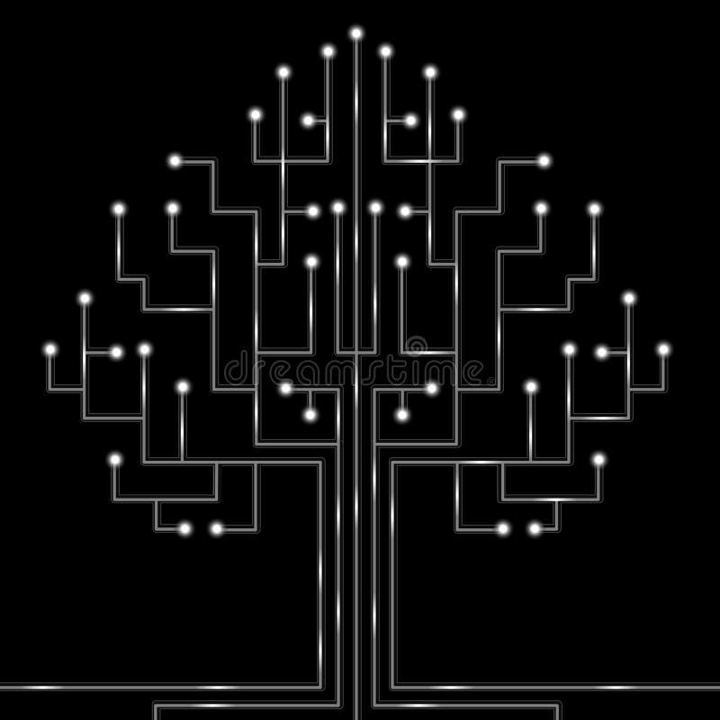 Fibres optiques illustration libre de droits