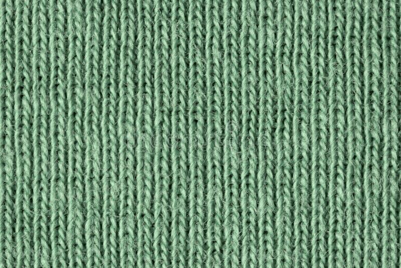 Fibres vertes fan?es de coton ?troitement  images stock