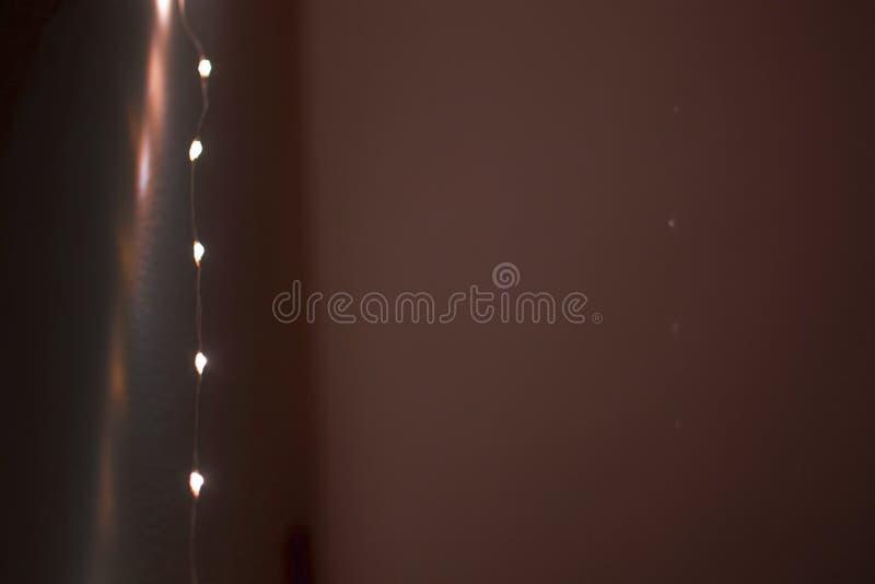Ficelle de marge de lumières photo stock