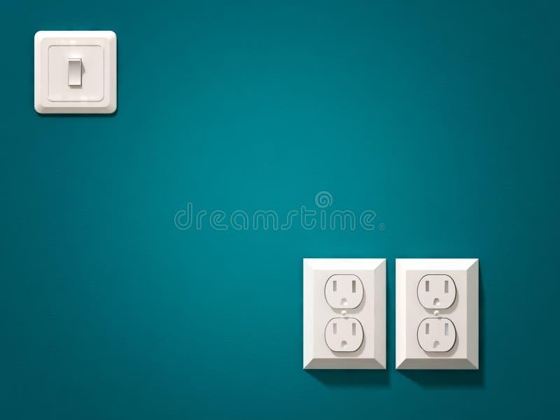 Fiche électrique image libre de droits