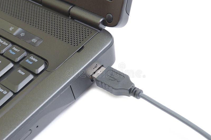 Fiche d'USB images stock