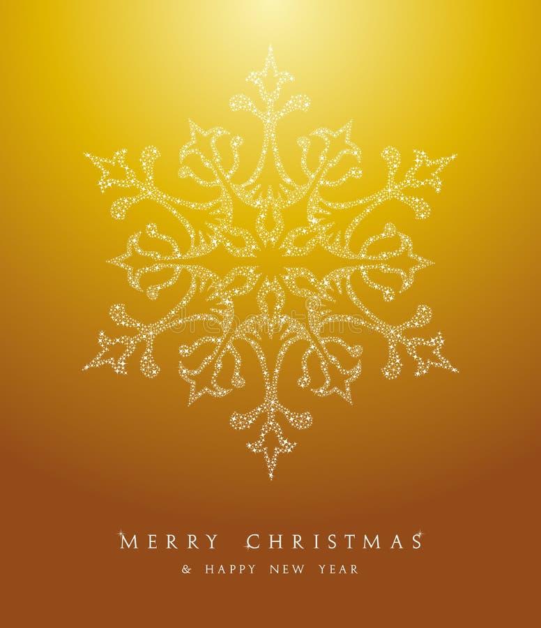 Fichero de lujo del vector del fondo EPS10 del copo de nieve de la Feliz Navidad. stock de ilustración
