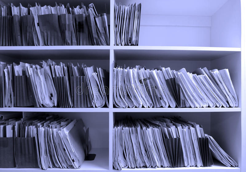 Fichiers de bureau images libres de droits
