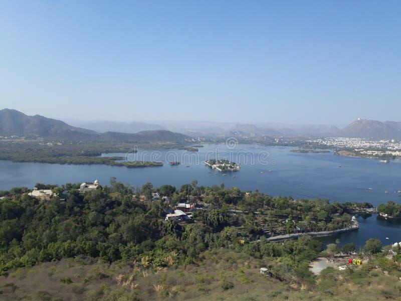 Fichola lake royalty free stock photos