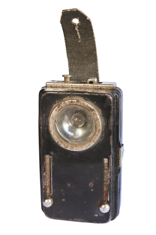 Ficklampagruvarbetare royaltyfri foto