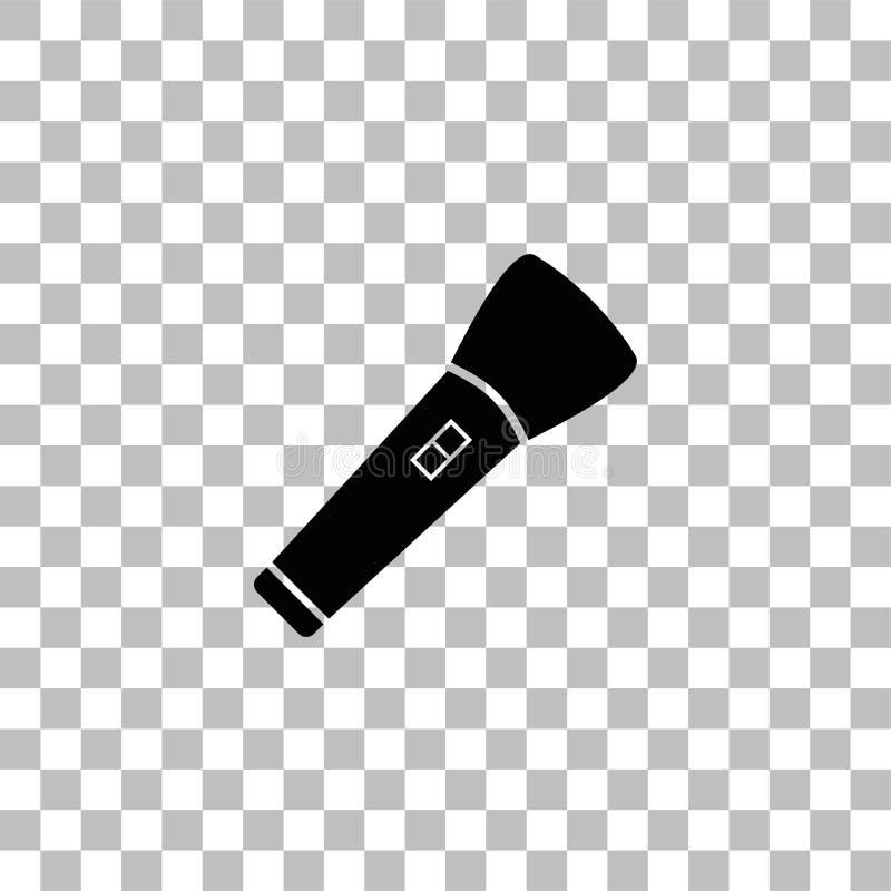 Ficklampasymbolsl?genhet stock illustrationer