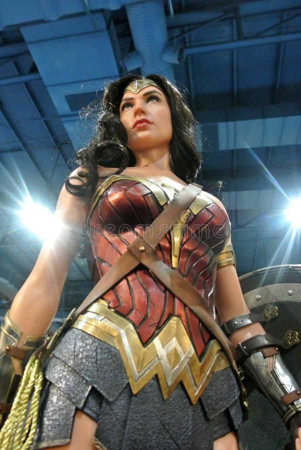 Free Fiction Character Of WONDER WOMAN From DC Movies And Comics. Stock Image - 160813451