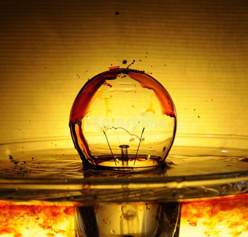 Fiction d'ampoule photo stock