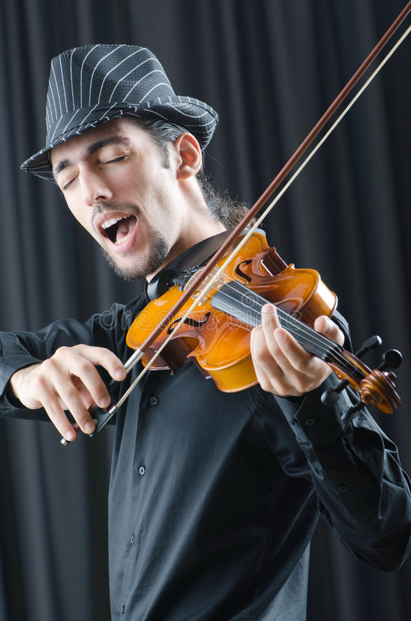 Download Fiddler playing the violin stock photo. Image of gypsy - 22336024