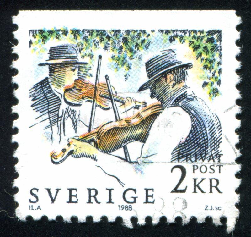 fiddlers стоковая фотография rf
