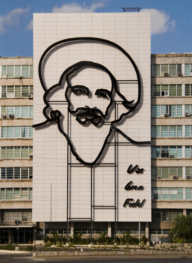 Download Fidel Castro Monument In Plaza De La Revolucion. Editorial Image - Image: 16015740