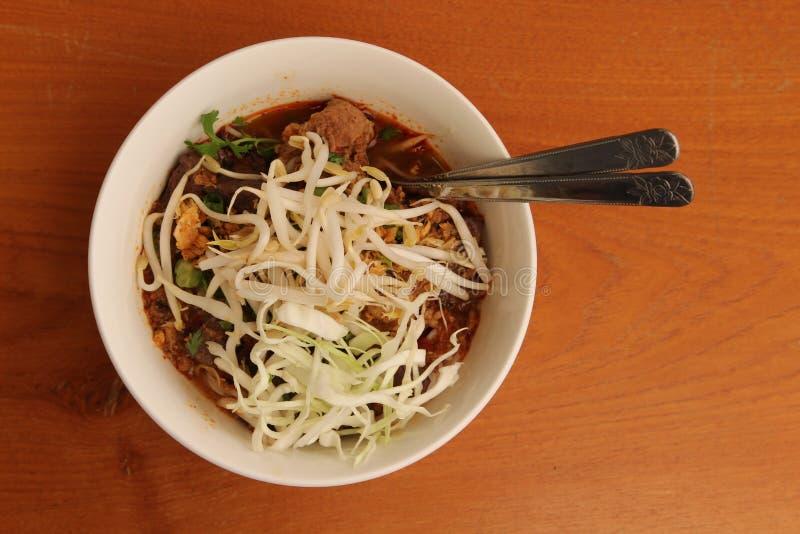 Fideos del arroz fotografía de archivo