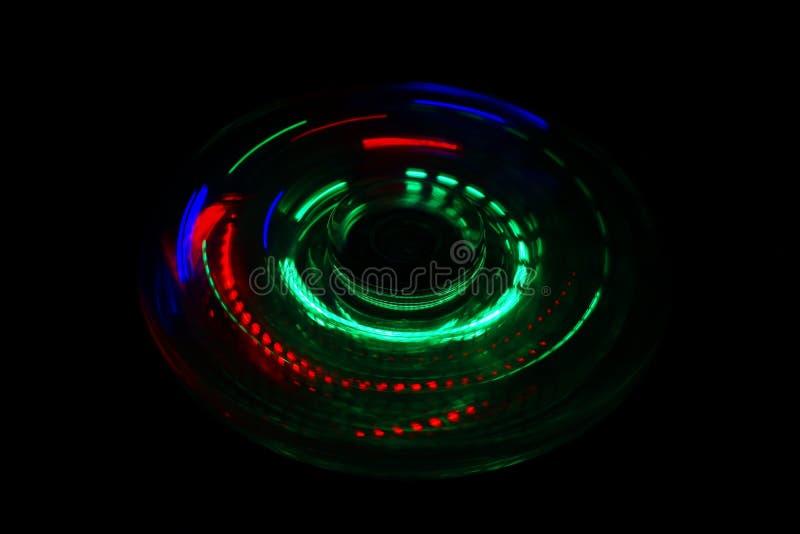 Fidget φως κλωστών επάνω στοκ εικόνα