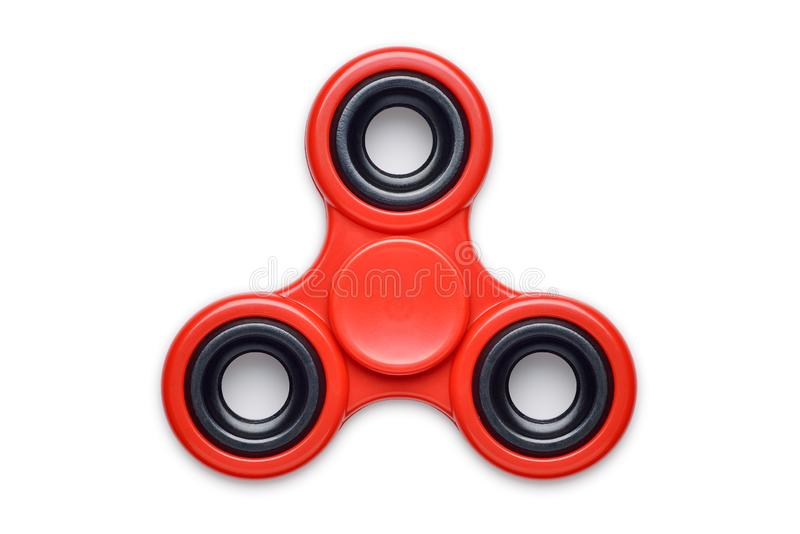 Fidget Spinner, Cut Out. Fidget Spinner isolated against a white background royalty free stock photos