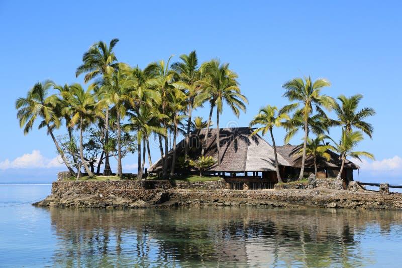 Fidschi-Landschaft lizenzfreie stockfotografie