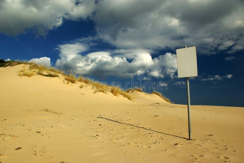 Fiducia vuota (cancellata da vento) immagine stock