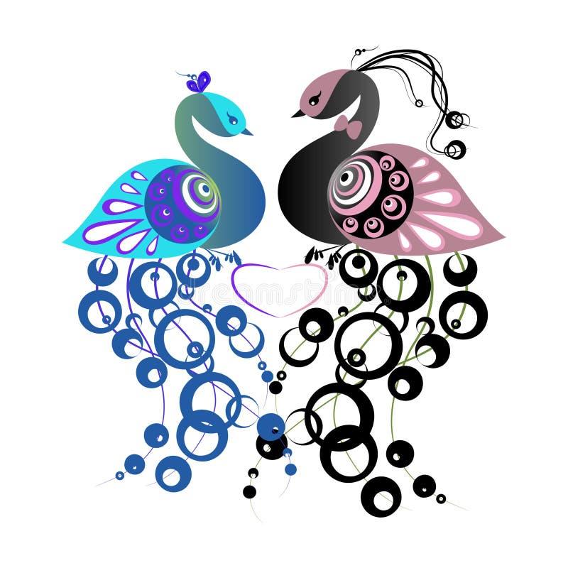 Fiebre del pájaro ilustración del vector