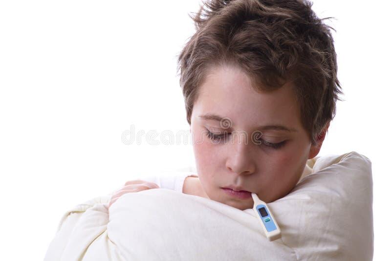 Fiebre y gripe fotografía de archivo