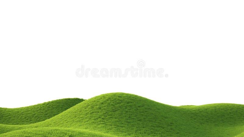 field зеленый цвет перевод 3d иллюстрация вектора