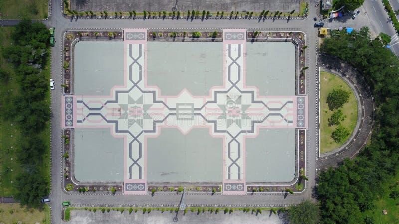 Field Agung An-nur Mosque Pekanbaru. Field Agung An-nur stock photography