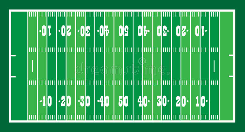 Download Field for american footbal stock vector. Image of pass - 32291361
