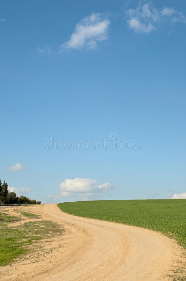 Free Field And Sky Royalty Free Stock Photo - 18470945