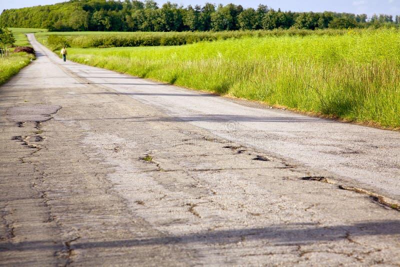Download Field asphalt way stock photo. Image of asphalt, cracked - 28501010