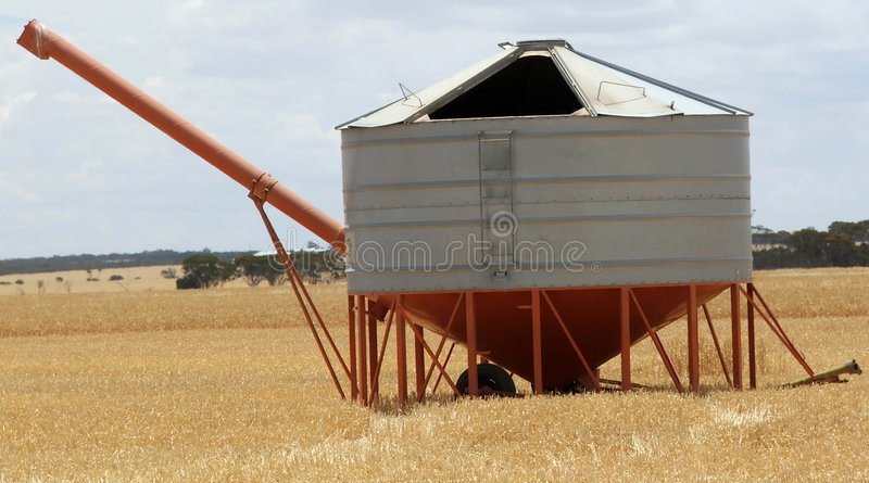 Download Field bin stock photo. Image of rural, farming, lupines - 166420