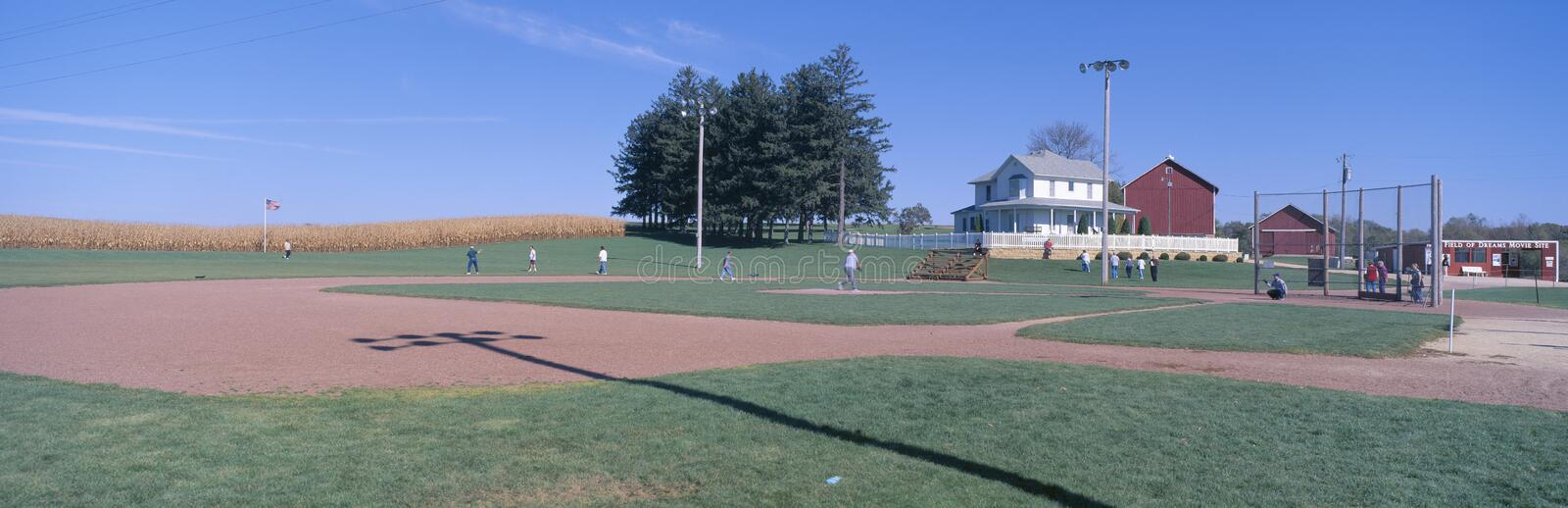 Field of Dreams movie set stock images