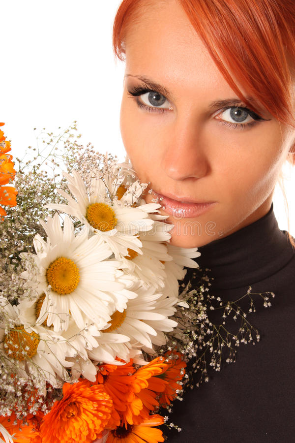 Download Field flowers stock photo. Image of femininity, happiness - 13183676