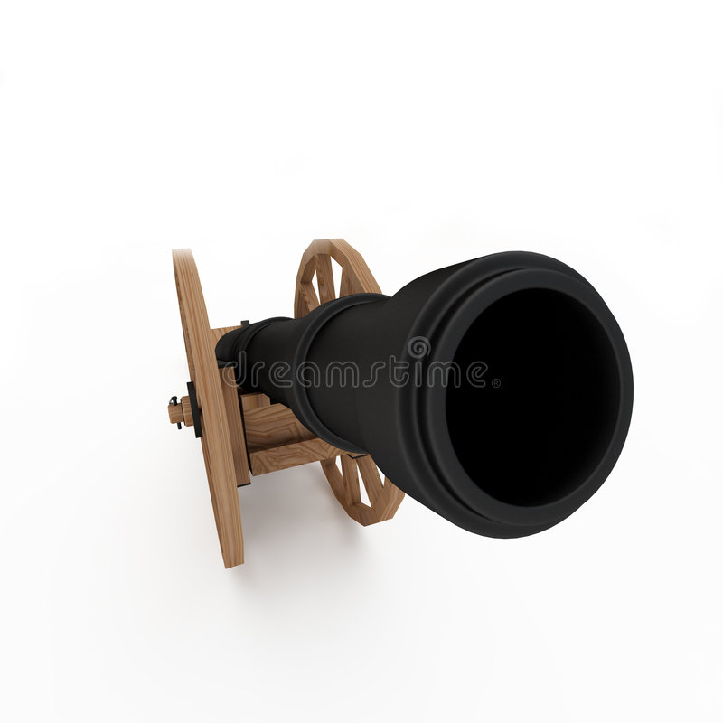 Download Field-gun, cannon stock illustration. Image of fighting - 4578621