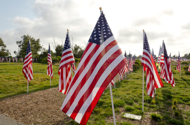 Download Field of Honor Event editorial stock image. Image of house - 19619619