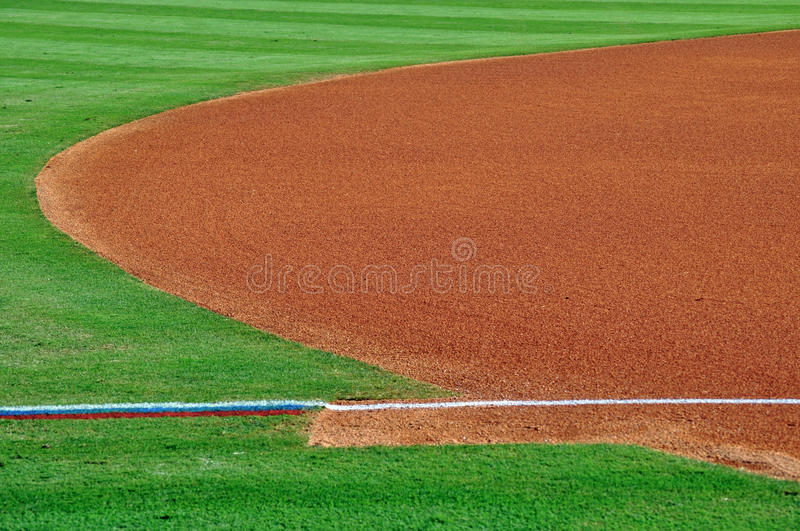 The field of minor league dreams-1. The field of minor league dreams royalty free stock photography