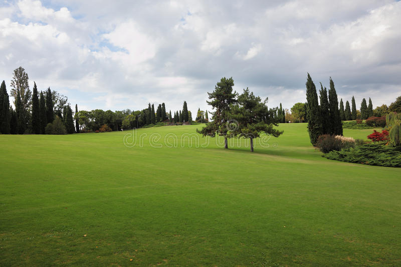 Download A Field In A Park-garden Sigurta Stock Photo - Image: 18656870