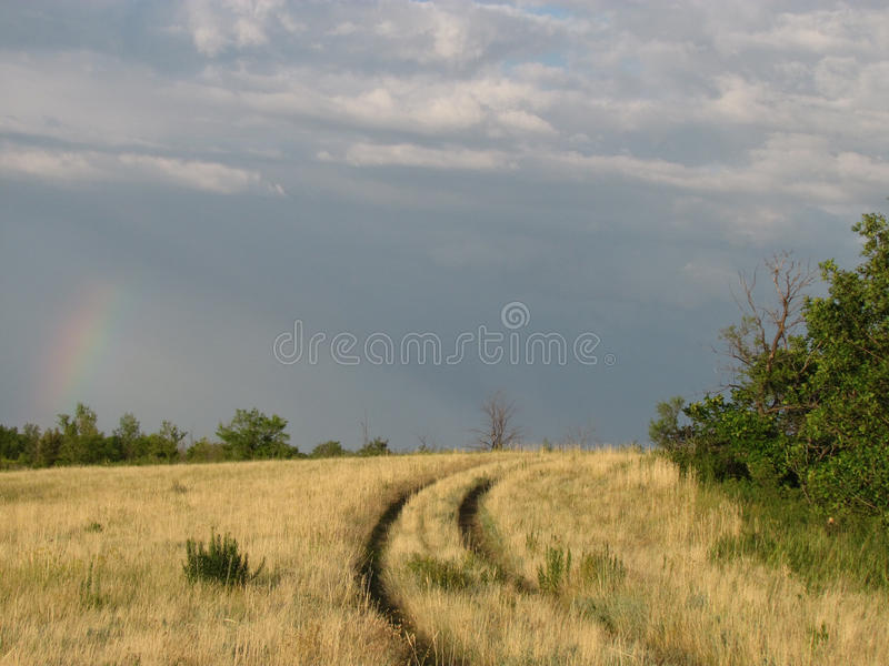 Field road stock images