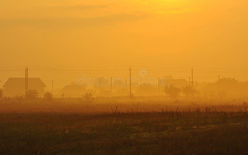 Field, Sky, Morning, Sunrise royalty free stock image