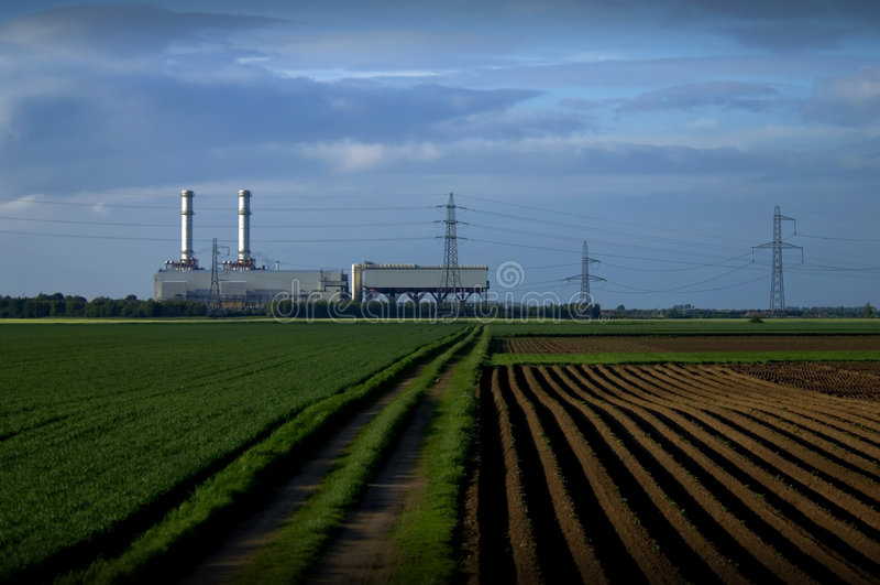 fields strömstationen arkivbilder
