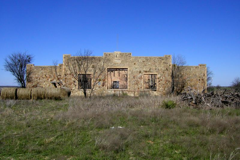 Fieldstone Ruin Stock Photo