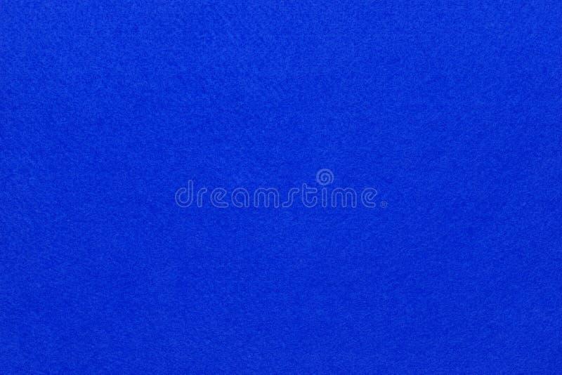 Fieltro del azul foto de archivo libre de regalías