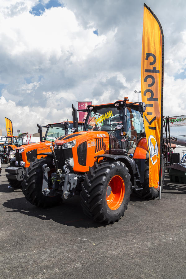 35° Fiera Agricola di Treviglio. 35° Agricultural fair in Treviglio (BG), Lombardy, Italy. With tractors, cattle and many more stock photography