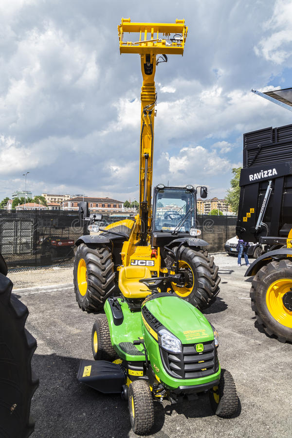 35° Fiera Agricola di Treviglio. 35° Agricultural fair in Treviglio (BG), Lombardy, Italy. With tractors, cattle and many more stock photos