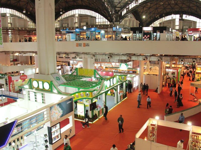 Fiera commerciale Aahar 2014 fotografie stock libere da diritti