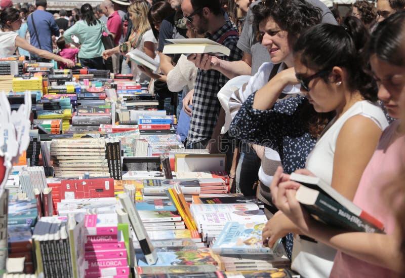 Fiera di libri in Mallorca 017 fotografia stock