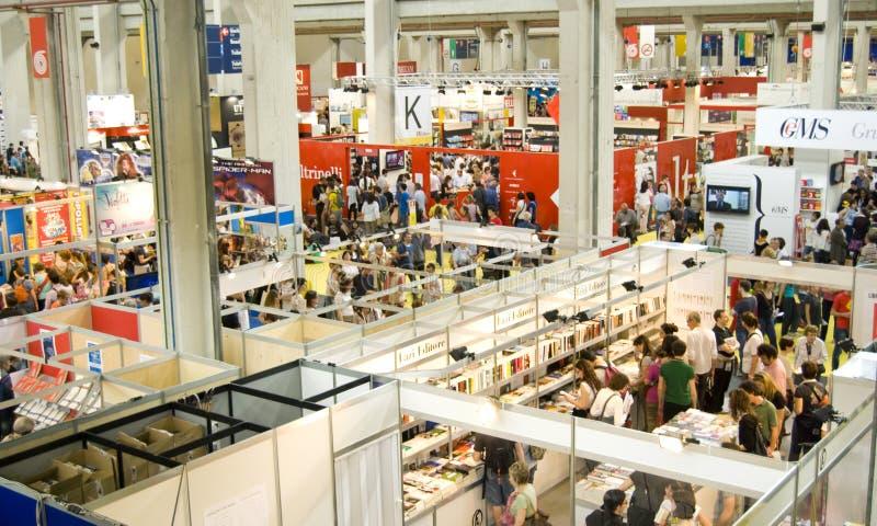 Fiera di libro internazionale 2012 - Torino fotografie stock libere da diritti