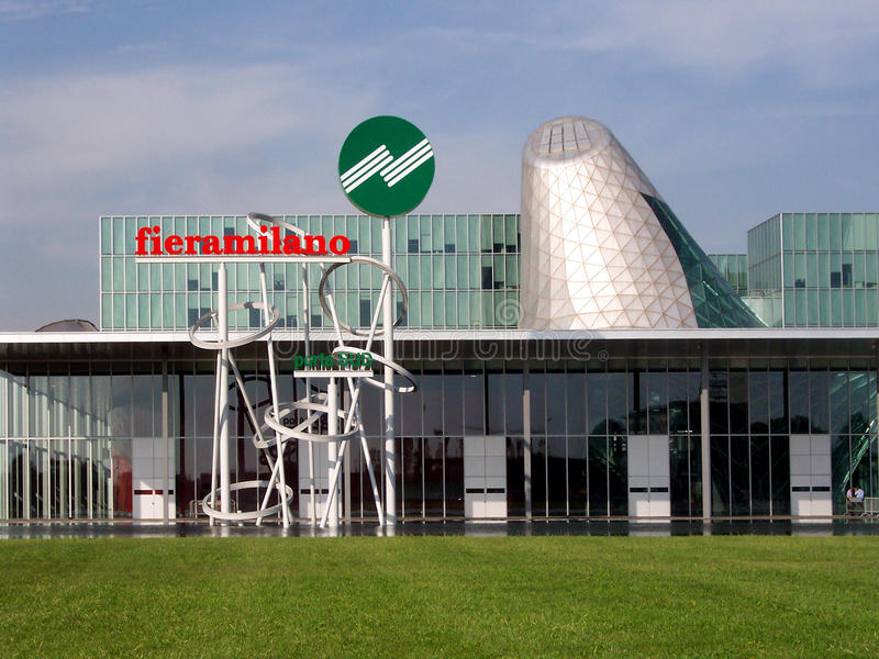 FieraMilano Trade Exhibition Centre, Milan, Italy Editorial Stock Image