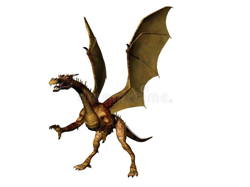 Fierce Dragon royalty free stock photos