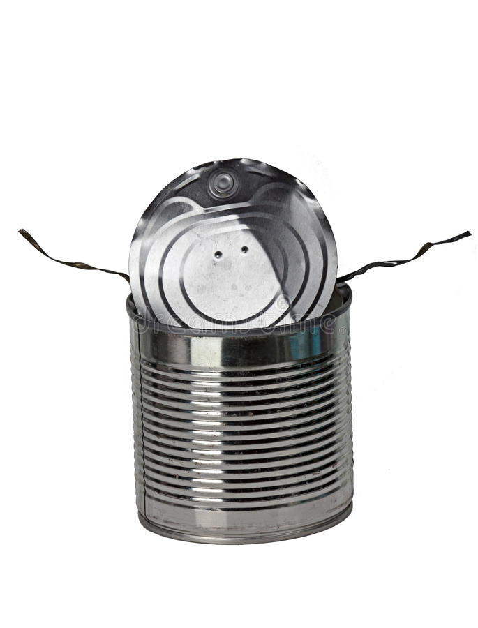 Free Fiercely Open Tin Funny Can Stock Photo - 85498300